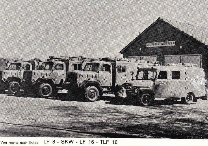 Fahrzeuge 1972